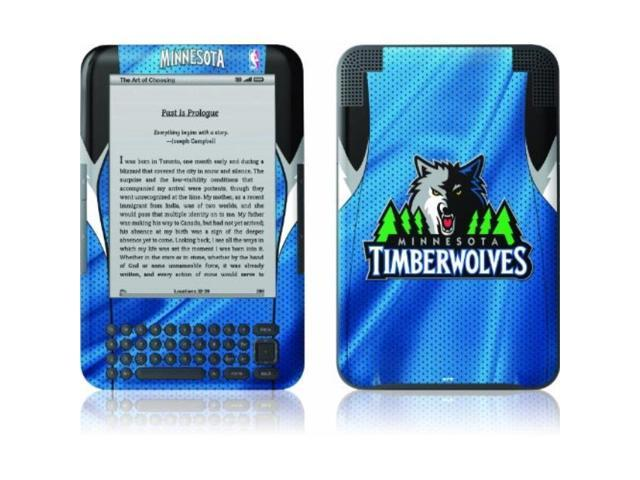 skinit kindle skin fits kindle keyboard, minnesota timberwolves - Newegg com