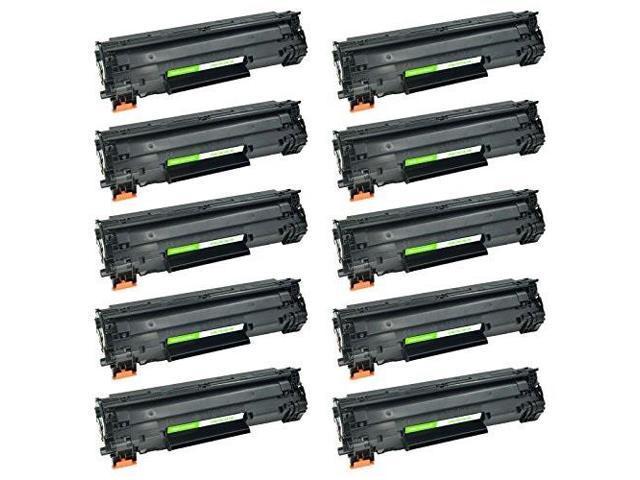 10PK C128 Black Laser Toner Cartridge For Canon ImageClass D530 L100 3500B001AA