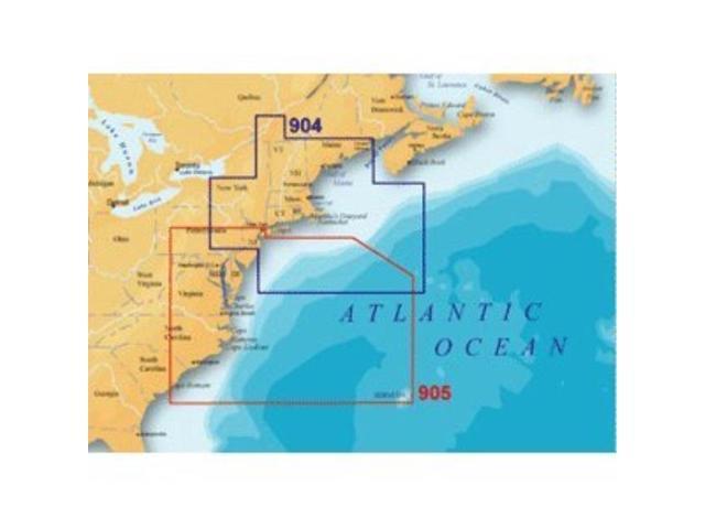 Navionics Platinum Plut 905PP - US Mid Atlantic and Canyons - SD Card -  Newegg com