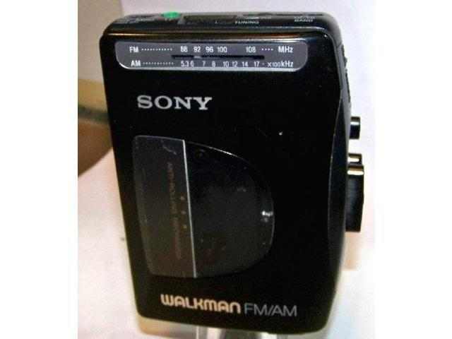 sony walkman cassette am fm radio model wmfx10 belt clip - Newegg com