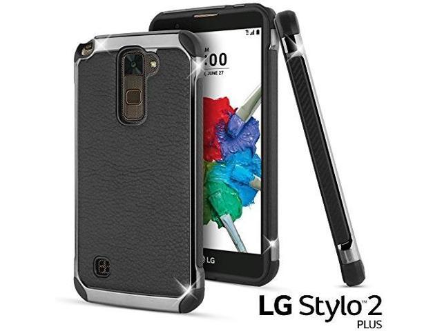 finest selection 2d5a5 73cd9 lg stylus 2 plus case, lg stylo 2 plus case, celljoy deluxe shock armor  slim fit dual layer protective shockproof hybrid bumper impact resistant ...