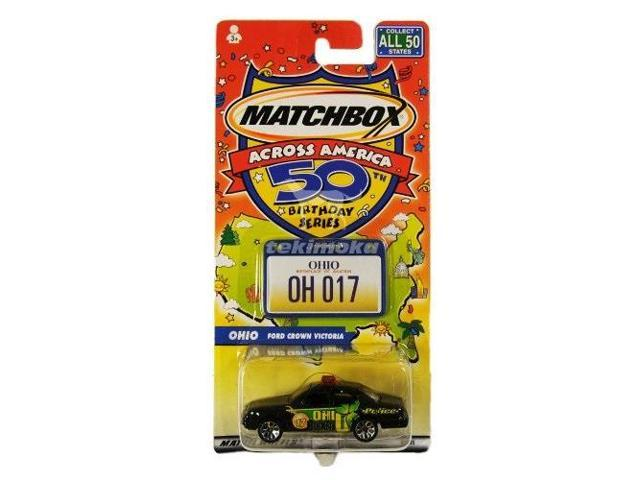Matchbox collectible Promotional  Bumper sticker 50th Birthday Party sticker