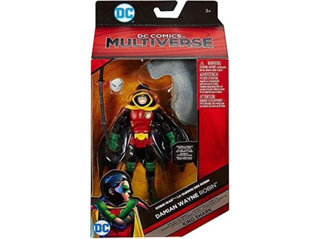 New DC Comics Multiverse Damian Wayne Robin Build King Shark Action Figure ..