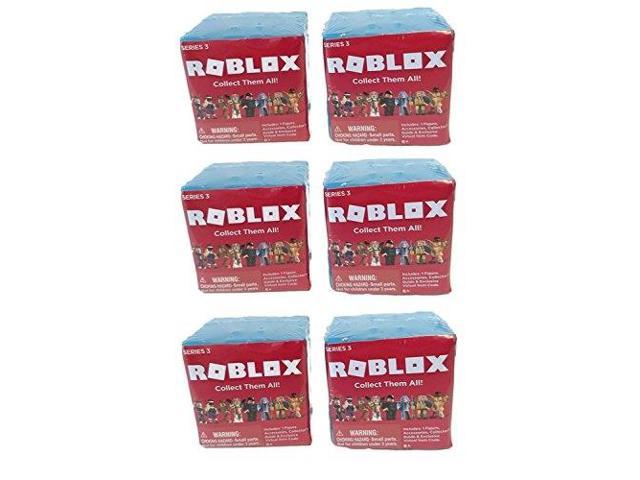Roblox Mystery Box Series 3 - Roblox Series 3 Action Figure Mystery Box Pack Of 6 Random