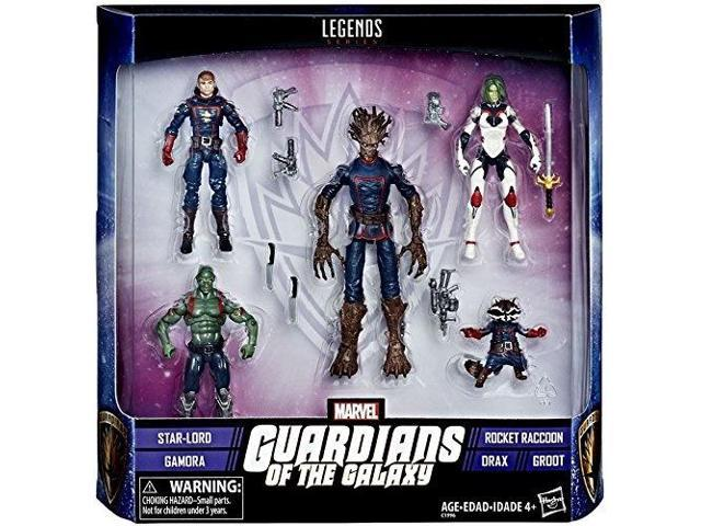 Marvel Legends Series Guardians Galaxy Gamora Star-Lord Action Figures 3.75Inch