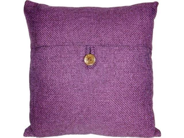 Decorative On Purple Throw Pillow Cover 18