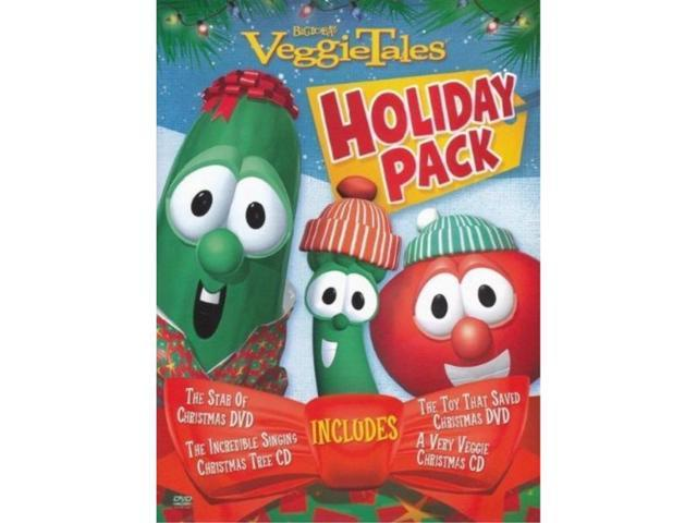 A Very Veggie Christmas.Veggietales Holiday Pack The Star Of Christmas The Toy That Saved Christmas A Very Veggie Christmas The Incredible Signing Christmas Tree