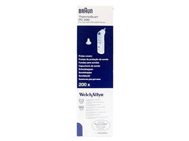 Genuine Braun//Welch Allyn Thermoscan Ear Thermometer Filter Probe Cover PRO 6000