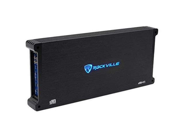 rockville db45 3200 watt/1600w rms 4 channel amplifier car stereo amp,  loud!! - Newegg com