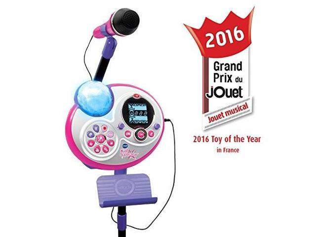 vtech kidi super star karaoke system with mic stand exclusive ...