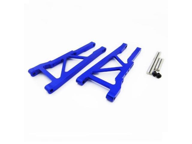 Grey//Gun Metal Replaces Traxxas Part 3631 Atomik RC Traxxas Slash 2WD 1:10 Aluminum Alloy Front Lower Arm Hop Up Upgrade