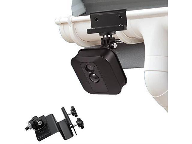 weatherproof gutter mount for blink xt outdoor camera with universal screw  adapter by wasserstein best viewing angle for your surveillance camera