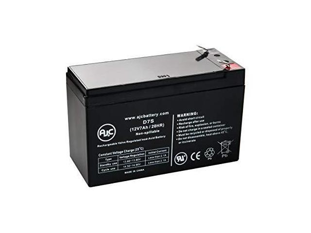 This is an AJC Brand Replacement Opti-UPS PS1000B-RM 12V 7Ah UPS Battery