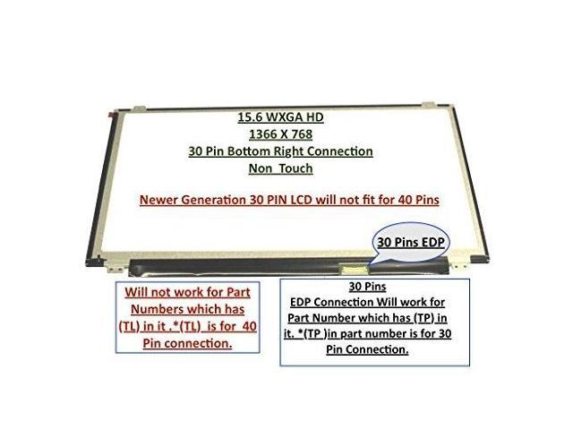 B140XTN02.4 New 14.0 WXGA HD SLIM LED LCD Screen GLOSSY 30 Pin eDP Connection
