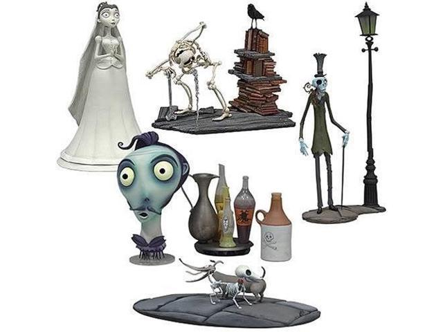 Wondrous Mcfarlane Toys 3 Corpse Bride Mini Collectors Set Victoria Elder Gutenknacht Zombie Gentleman Paul The Head Waiter Scraps And The Wiener Dog Pdpeps Interior Chair Design Pdpepsorg