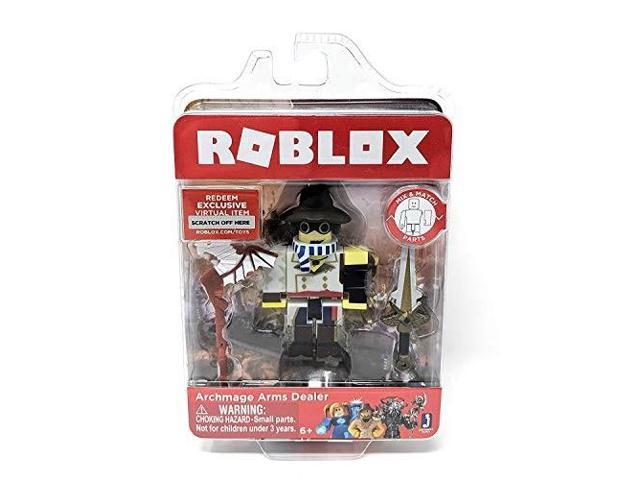Roblox Archmage Arms Dealer Single Figure Core Pack with Exclusive Virtual Item Code
