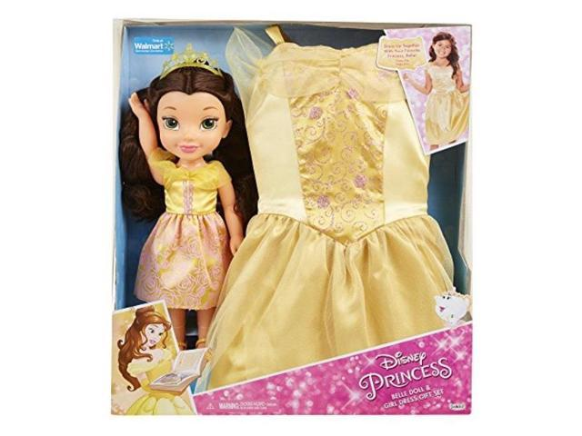 b29cc5586a8b disney princess belle doll & girl dress gift set - Newegg.com