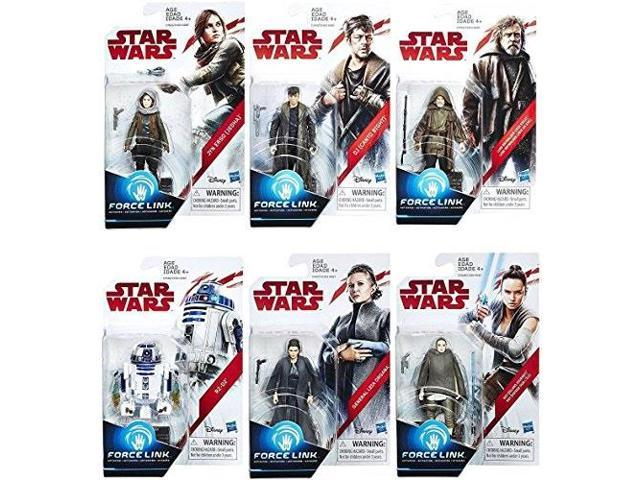 Star Wars The Last Jedi Force Link 3 3//4 Inch DJ Canto Bight Action Figure