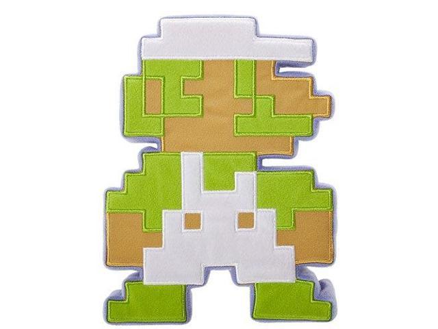 Fire Luigi 8 Bit Super Mario Bros World Of Nintendo Series 1 1