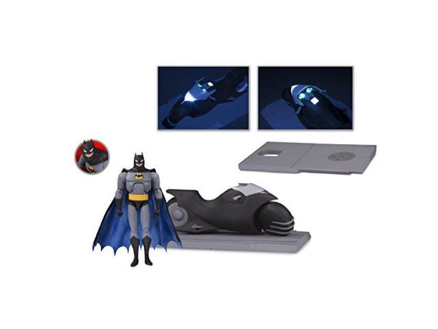 "5/""-7/"" Figures--Batman The Animated Series Batcycle /& Action Figure Set"