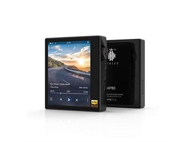 hidizs ap80 ultraportable hifi music player bluetooth mp3 player high  resolution audio player black - Newegg com