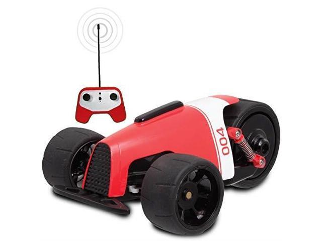Sharper Image Rc Car Red Phantom Racer Trike Remote Control Car For Kids 49 Mhz Childrens Race Toy For Boys And Girls Retro Tadpole Threewheeler Style 360 Degree Spins Multiplayer Pair W