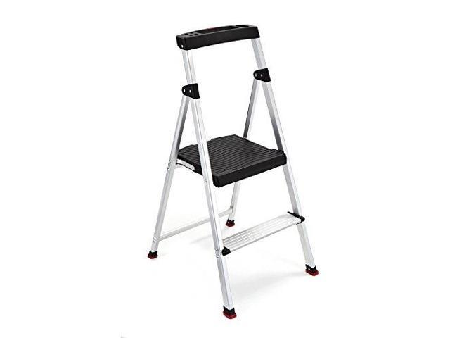 Incredible Tricam Industries Step Stool 2 Step Aluminum Rma 2 Newegg Com Machost Co Dining Chair Design Ideas Machostcouk