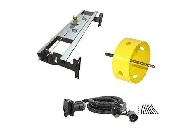 Brilliant Bw Hitches Gnrk1313 Turnoverball Gooseneck Hitch Kit W 4 Hole Saw Wiring 101 Dicthateforg