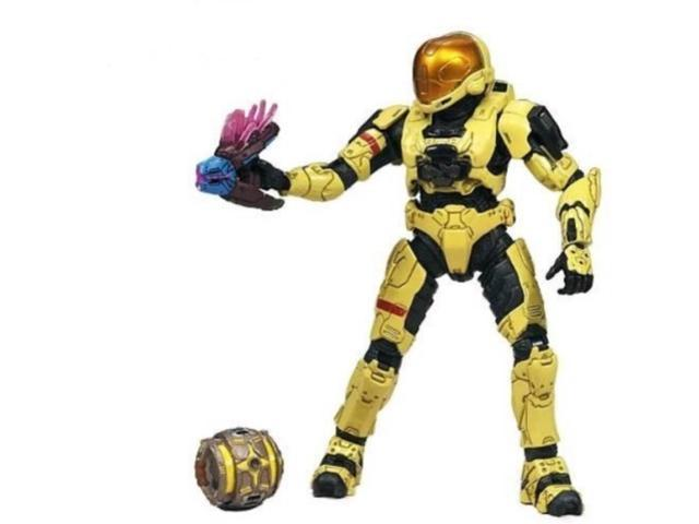 HALO 3 Series 5 Exclusive Spartan Soldier EVA Pale Yellow Action Figure McFarlane Toys