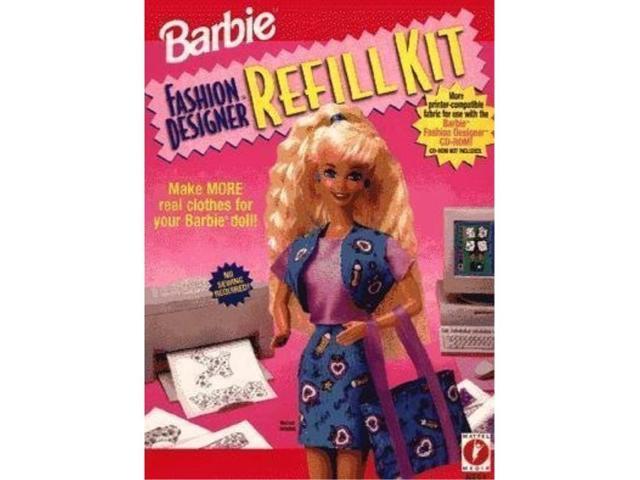 Barbie Fashion Designer Refill Kit Box Newegg Com