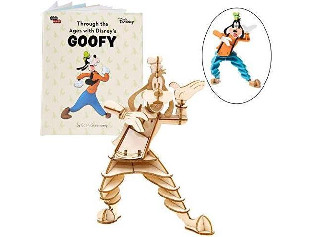 6 Disney Goofy Book and 3D Wood Model Figure Kit Great for Kids ...