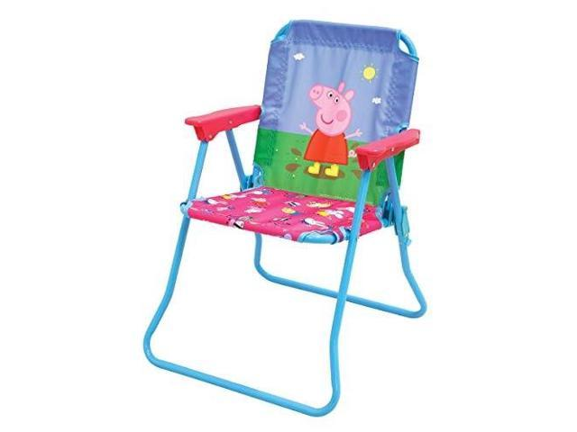 Remarkable Peppa Pig Patio Chair For Kids Portable Folding Lawn Chair Short Links Chair Design For Home Short Linksinfo
