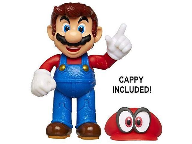 Nintendo Super Mario Odyssey Mario 4 Articulated Figure With Cappy Newegg Com