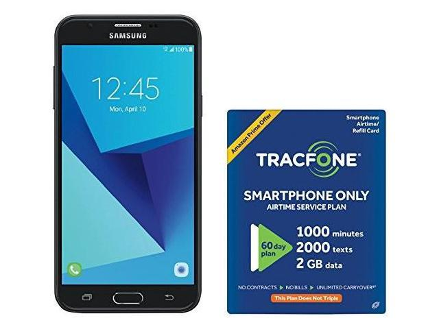 tracfone samsung galaxy j7 sky pro 4g lte prepaid smartphone with exclusive  free $40 airtime bundle - Newegg com