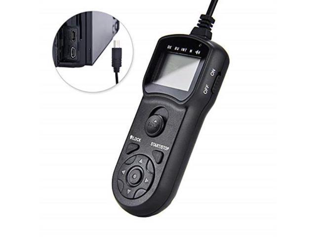 timer remote shutter cord jjc timer shutter release remote control cord for  sony a6500 a6400 a6300 a6000 a5100 a5000 a3500 a9 a7 iii ii a7s ii a7r iii