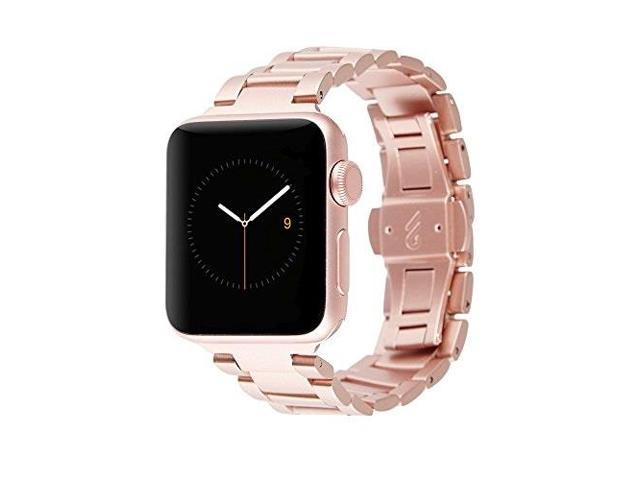 Casemate Metal Linked Band 38mm 40mm Stainless Steel Apple Watch Band Series 4 Series 3 Series 2 Series 1 Rose Gold Newegg Com