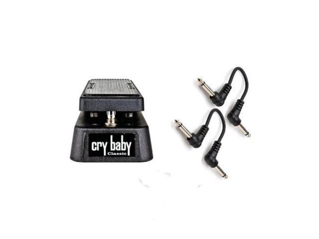 jim dunlop gcb95f crybaby classic retro fasel inductor wah pedal w/ 2 6