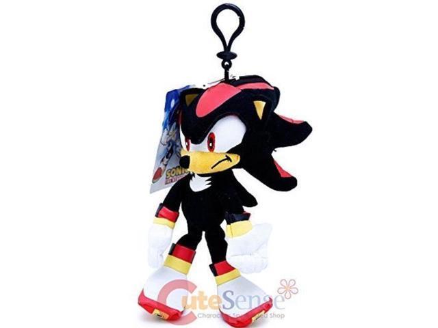 Sonic The Hedgehog Shadow Plush Doll Key Chain Coin Bag Clip On 8 Soft Plush Newegg Com