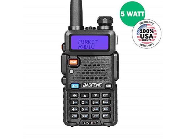 baofeng uv5r mk2 2019 handheld dual band two way ham radio, mirkit edition  - Newegg com