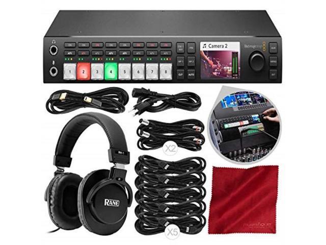 Blackmagic Design Atem Television Studio Pro Hd Live Production Switcher With Sdi Video Cable Pc Power Cord 6 Bundle
