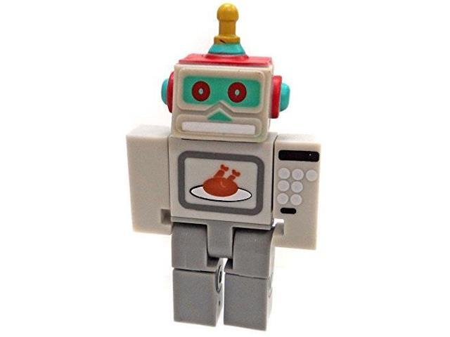 roblox series 2 microwave spybot action figure mystery box + virtual item  code 2 5