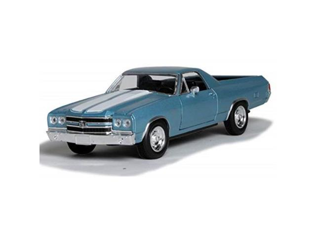 New-Ray 1970 Chevrolet El Camino SS  1//24 scale new no box blue exterior