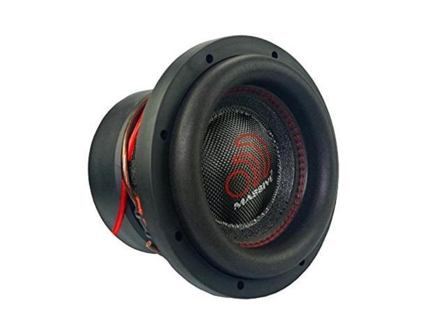 2 8 Inch Car Audio Subwoofer Dual Voice Coil 4 Ohm 2000W Massive Hippo 84