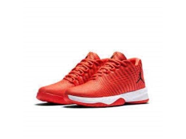 Nike Jordan B.Fly Herren max orange gym red Weiß schwarz