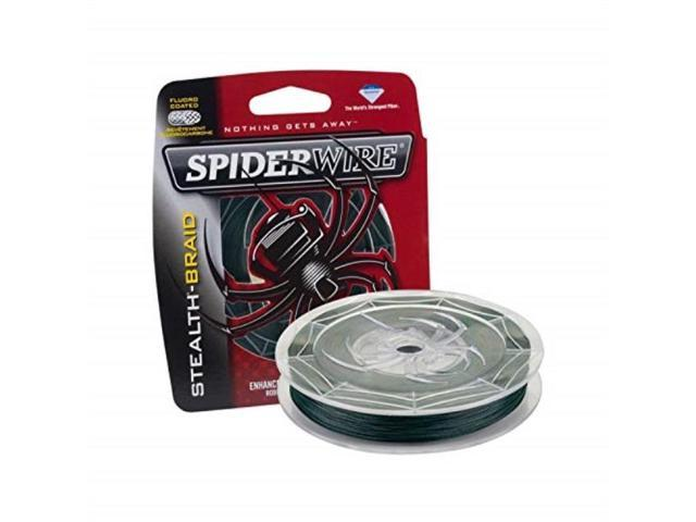 Image result for Spiderwire SCS15G-125 Braided Stealth Superline, Moss Green, 15 Pound, 125 Yards