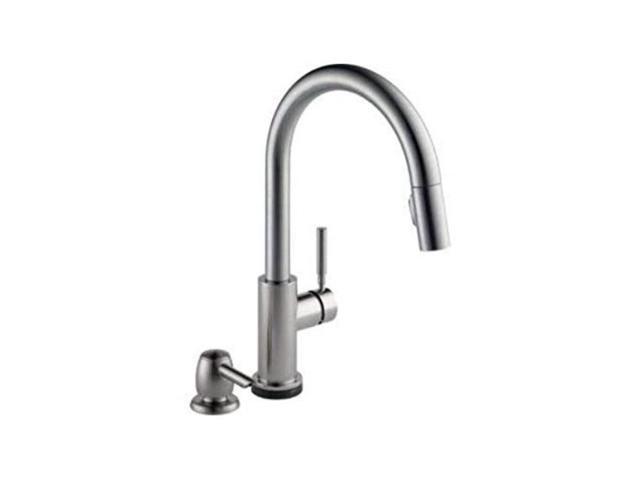 delta trask 19933tspsddst touch kitchen faucet