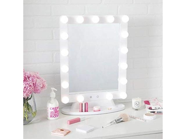 Thinkspace Beauty Extra Large Lighted Hollywood Makeup Vanity Mirror Led Bulb Lights