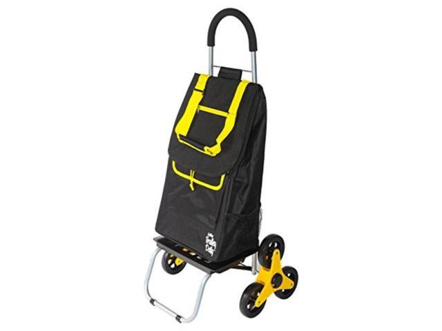 dbest products stair climber trolley dolly, sunflower shopping grocery  foldable cart condo apartment - Newegg com