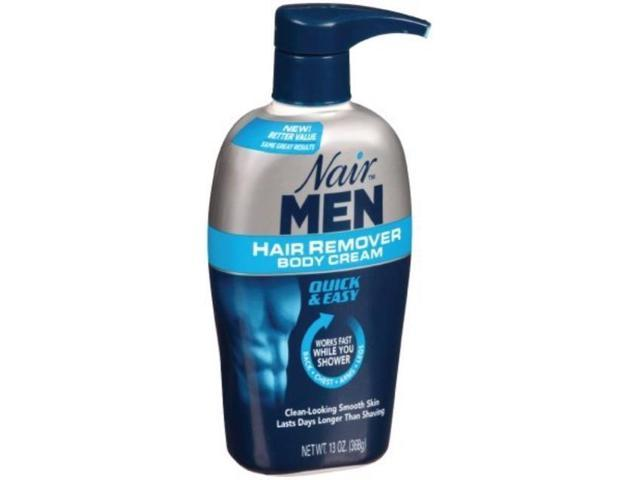 Nair Men Hair Removal Cream 2 Count Newegg Com