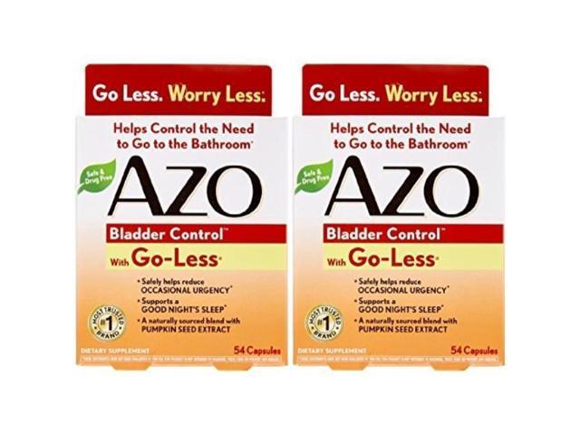 azo bladder control, 54 capsules 2 pack